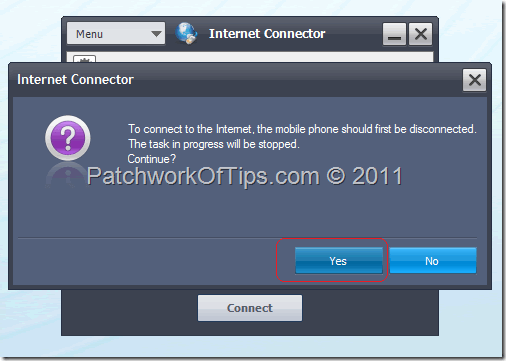 How to connect to the internet with samsung pc studio and mobile phone