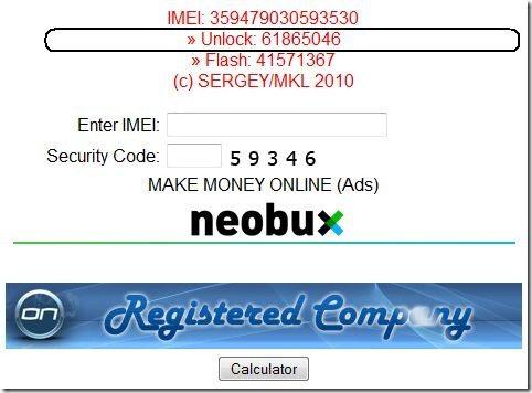 Online Huawei USB Modem Unlock Code Generator