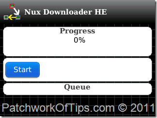 Nux BlackBerry Download Manager