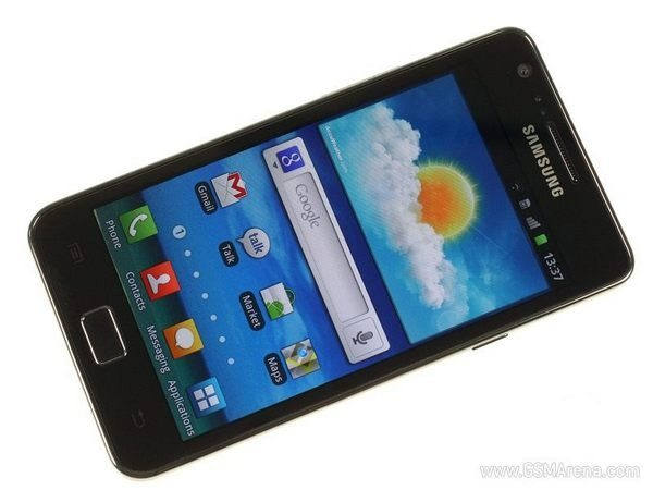 Best Android Smartphone - Samsung Galaxy S II