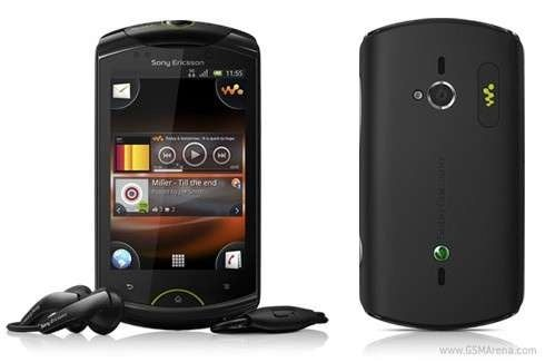 Sony Ericsson Live With Walkman Android Smartphone Announced
