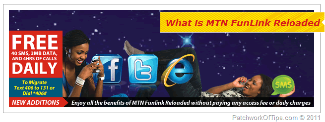 MTN FunLink Reloaded Tariff Plan