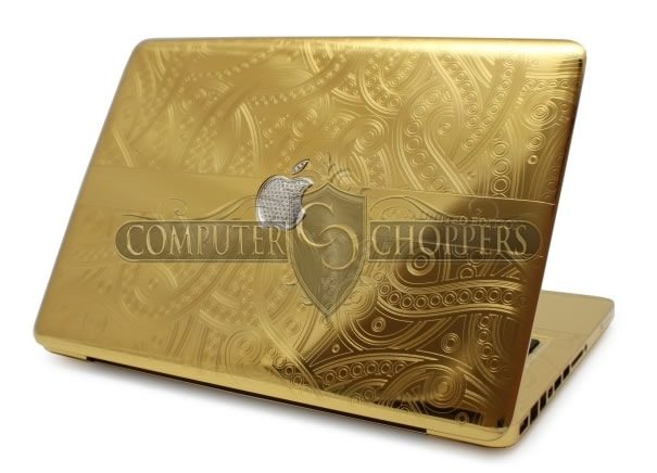 Luxury Gold Plated MacBook Pro