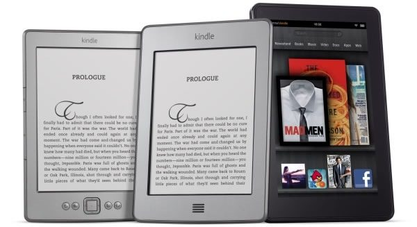 Amazon Kindle, Kindle Touch, Kindle Touch 3G and the Kindle Fire Now On Sale In The US