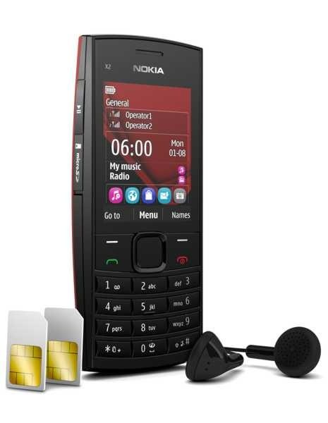 Buy Nokia X2-02 Dual SIM Mobile Phone For £60
