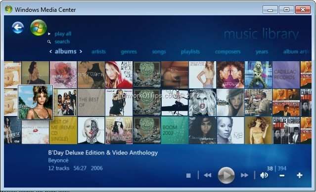 Update Media Player Library