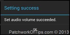 Set LoudSpeaker Volume On Android