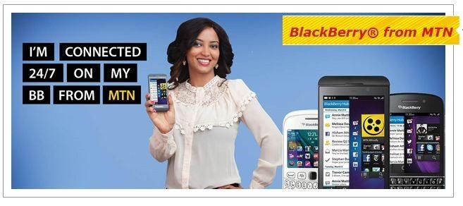 MTN Nigeria BlackBerry Absolute Plan