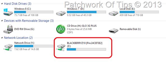 Transfer ebooks to BlackBerry Z10