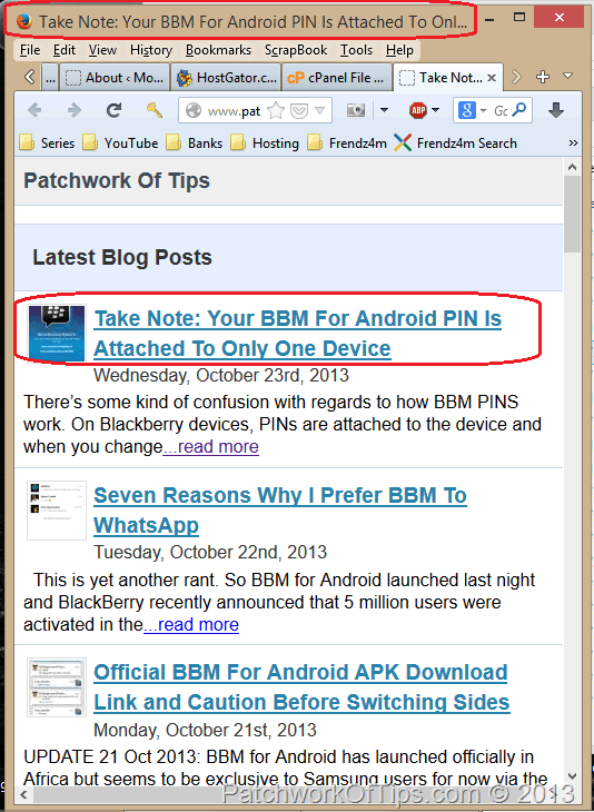 All in One SEO Home Title Not Working