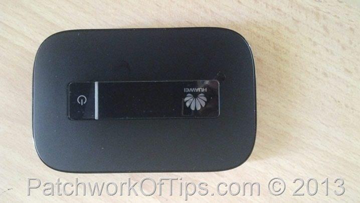 Huawei E5756 Top View