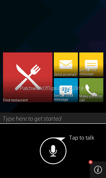 BlackBerry 10.3 Assistant
