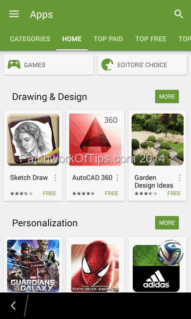 Google Play Store Running On BlackBerry 10