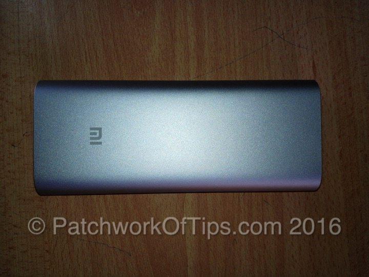 Xiaomi 16000mAh Powerbank Top