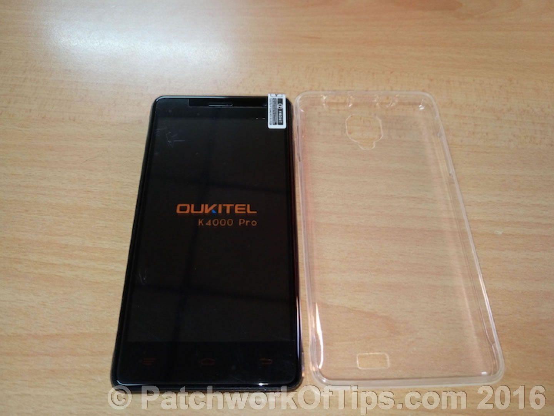 Oukitel K4000 Pro + Free Silicone Case