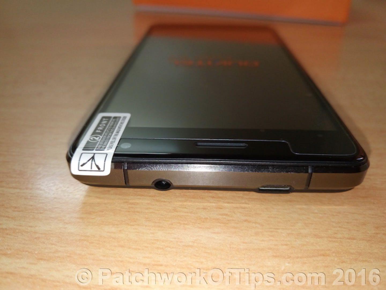 Oukitel K4000 Pro Top Side Shot - Earphone jack, USB Charging Port