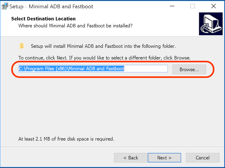 Quick Install ADB & Fastboot Drivers for Android 2