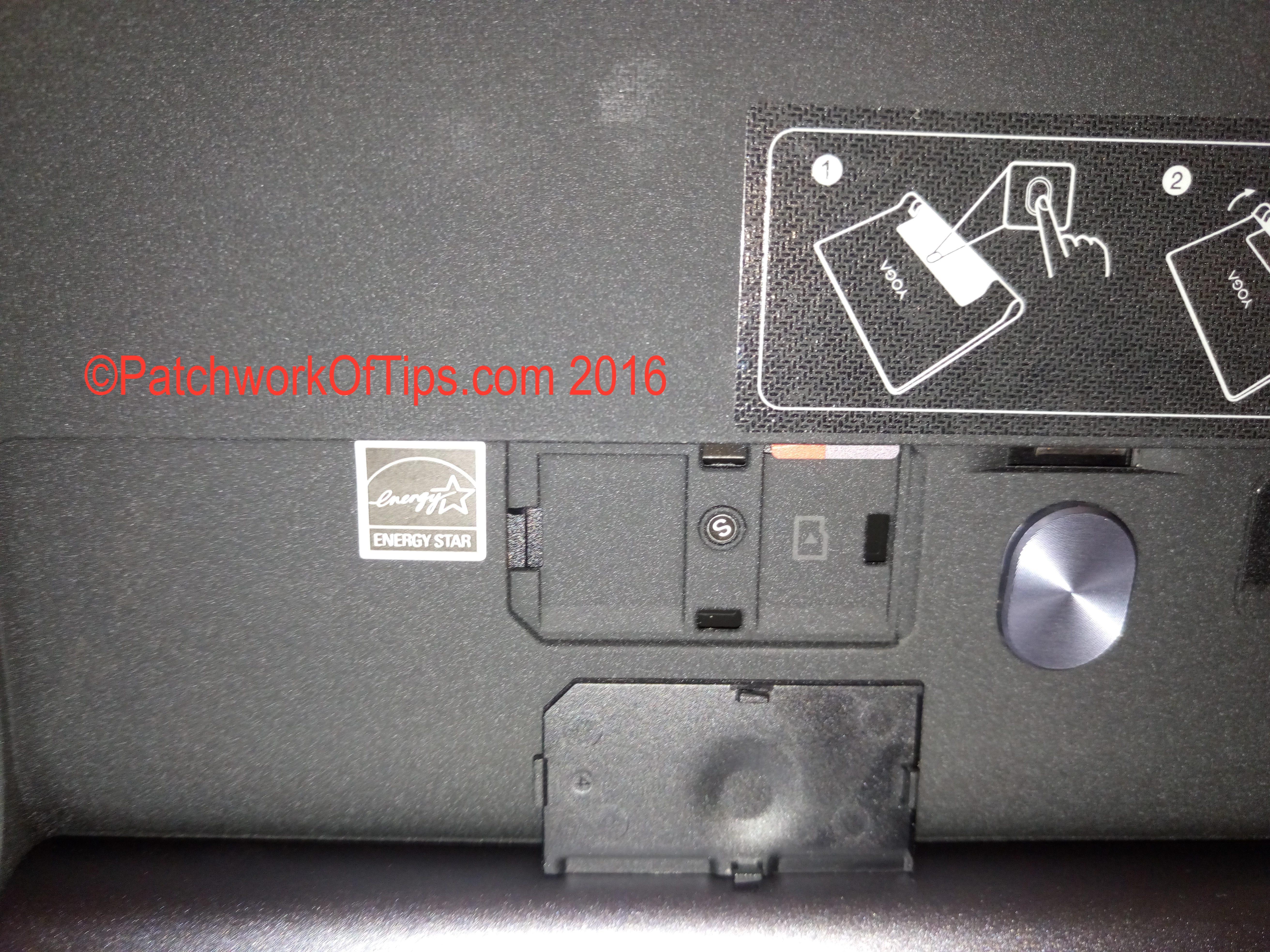Lenovo Yoga Tab 3 10 MicroSD, SIM Slot and Kickstand