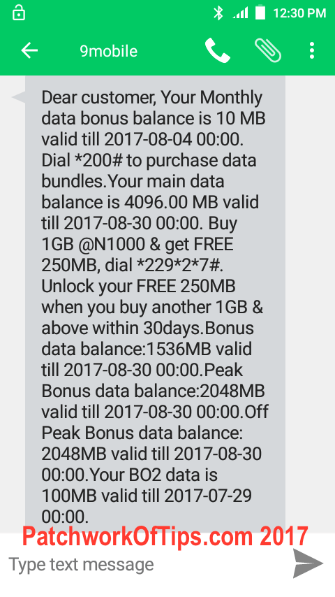 9Mobile Nigeria Double Data Promo