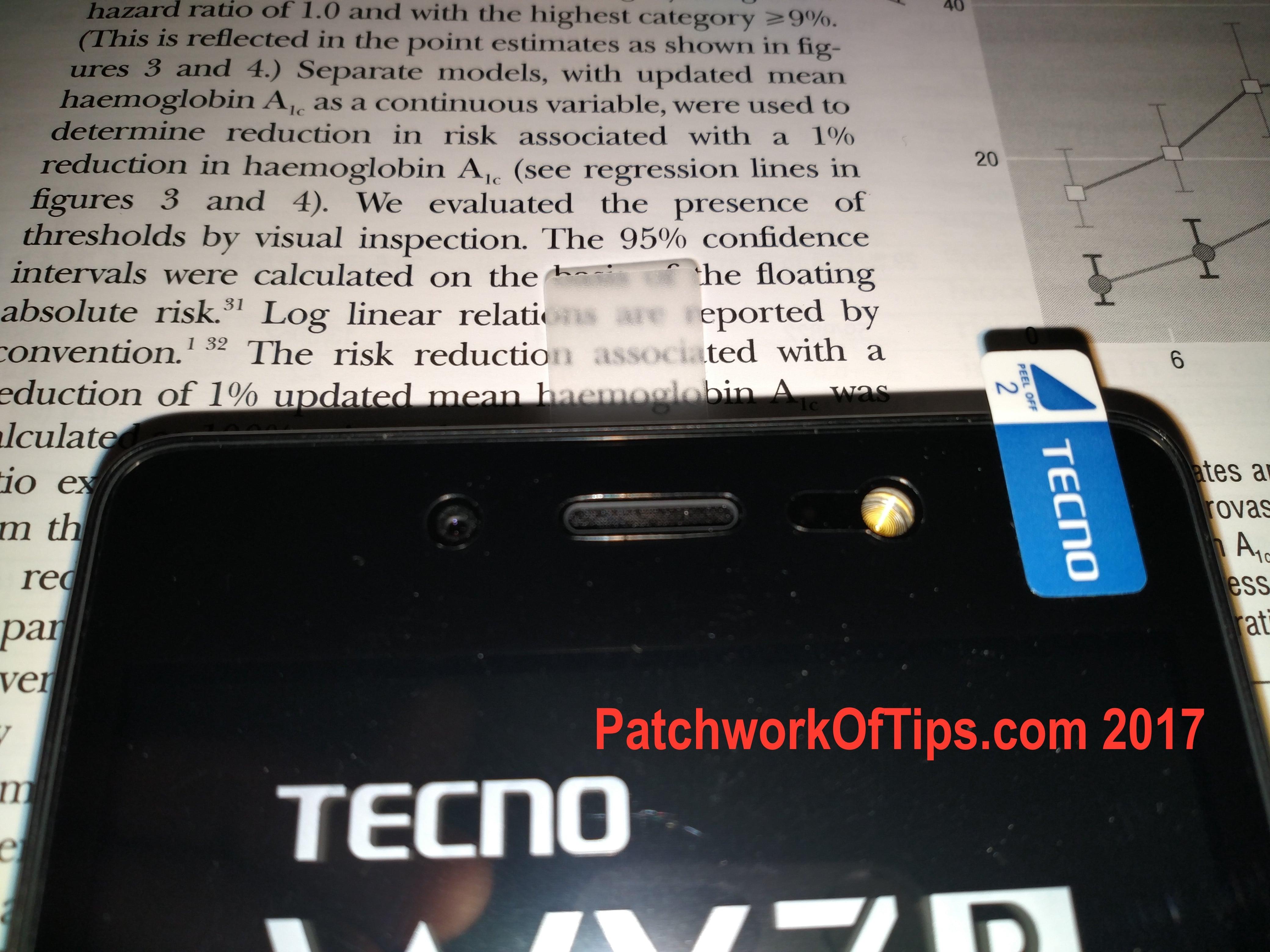Tecno WX3P Unboxing 12