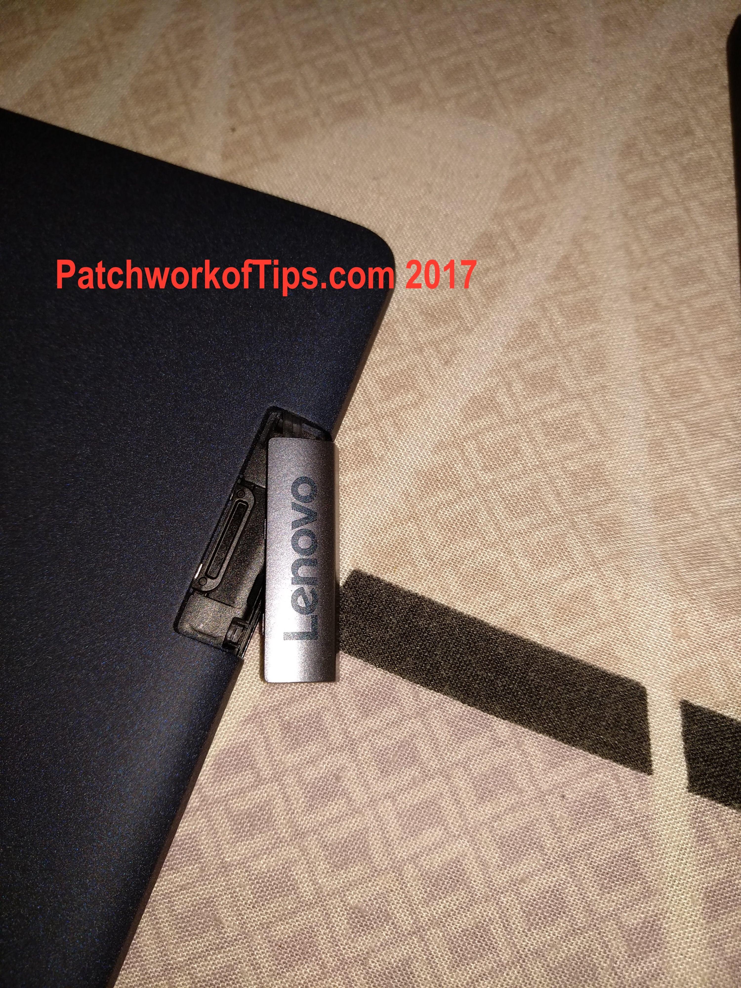 Lenovo TAB3 8 Plus MicroSD Card Slot 2