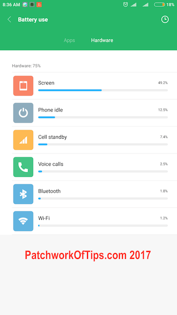Xiaomi Mi Max 2 Battery Life Test – Daily Usage On WiFi Only 2